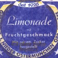Limonadenetikett